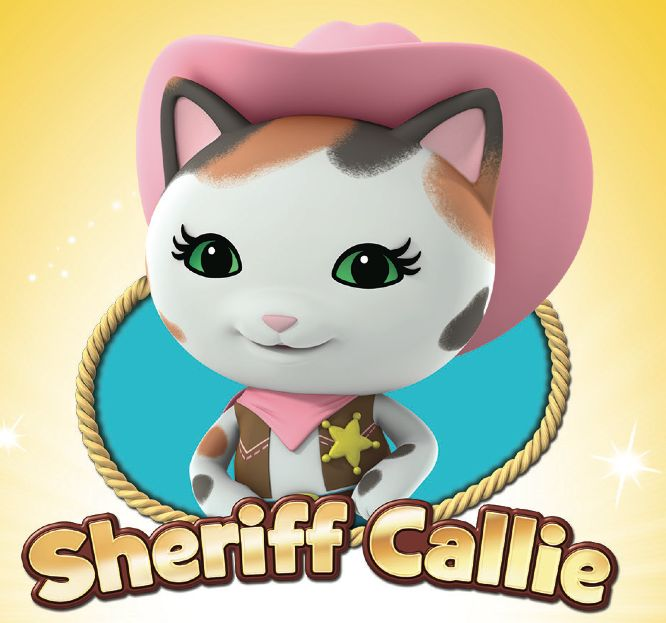 Sheriff Callie's Wild West - Disney Junior Wiki - Wikia  **I have a little kitty girl named Callie. So, when I found out about Sheriff Callie, it was kind of cool.**