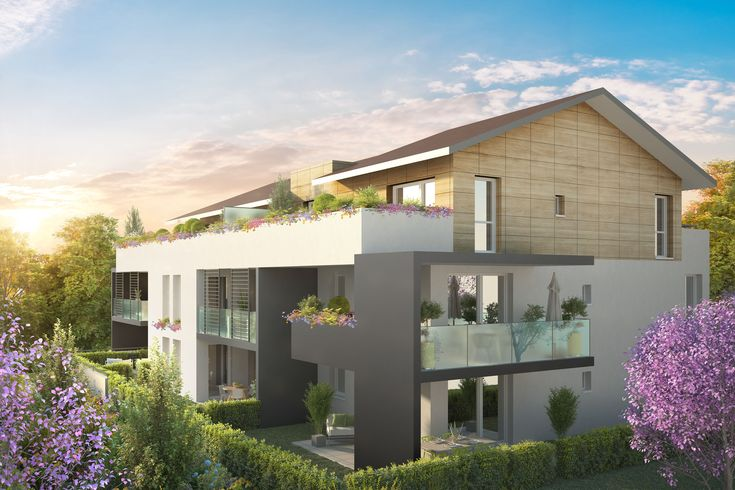 Programme immobilier neuf Seynod Annecy Loi Pinel haute savoie - appart neuf 74600 http://www.immocomvous.fr/programmes-neufs/appartements-neufs-seynod-74/