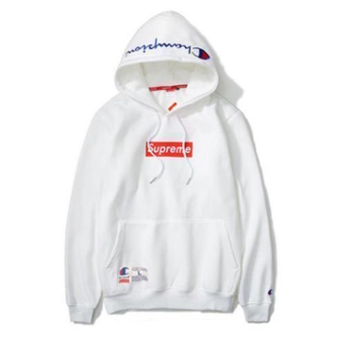 52cd995154f1 New-Supreme-Champion-Box-Logo-Hip-Hop-coats-Embroidered-Cotton-Sweater- Hoodies