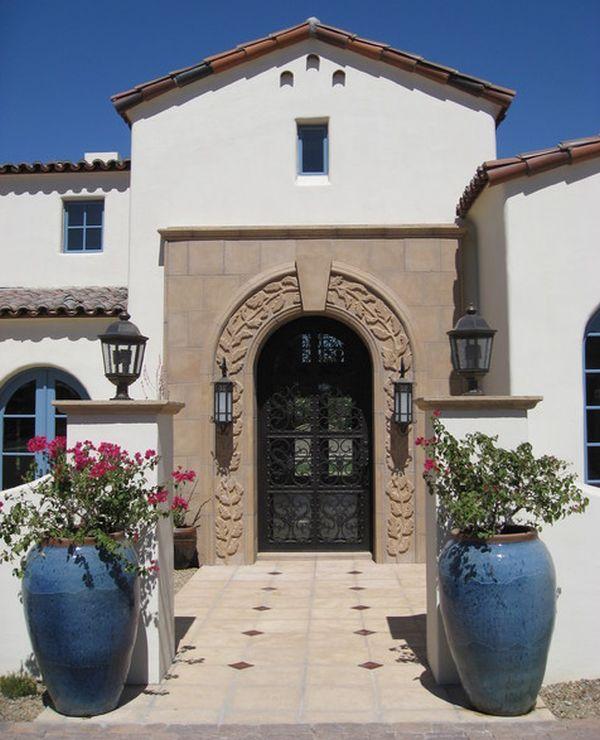 Mediterranean Style Front Doors: Best 25+ Front Door Planters Ideas On Pinterest