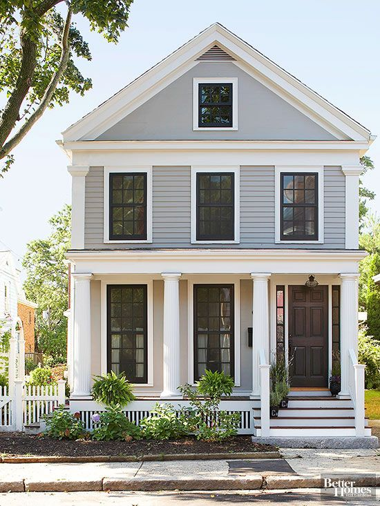 Exterior paint ideas for colonial homes