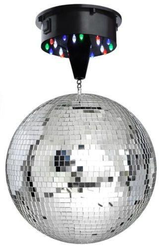 Comprar bola de espejos giratoria con motor y LEDS incluidos a pilas | Tienda de lámparas, lámparas de LED, ventiladores de techo, decoración y regalos originales