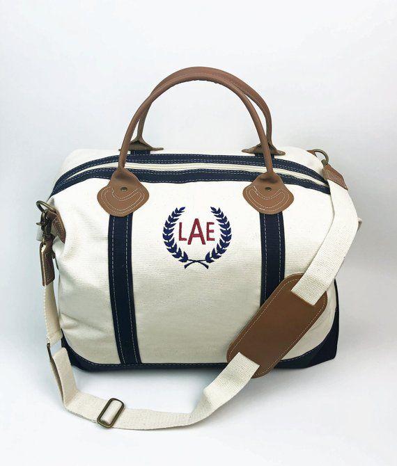 Monogram Weekender Bag Overnight Travel