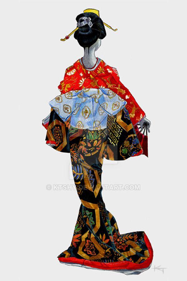 Geisha by ktshy on DeviantArt