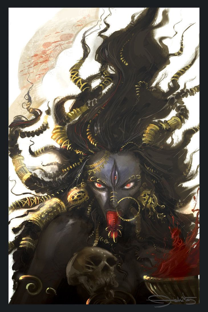 goddess of kali In linga purana, parvati metamorphoses into kali, on the request of shiva kali is another ferocious form of parvati, as goddess of time and change.