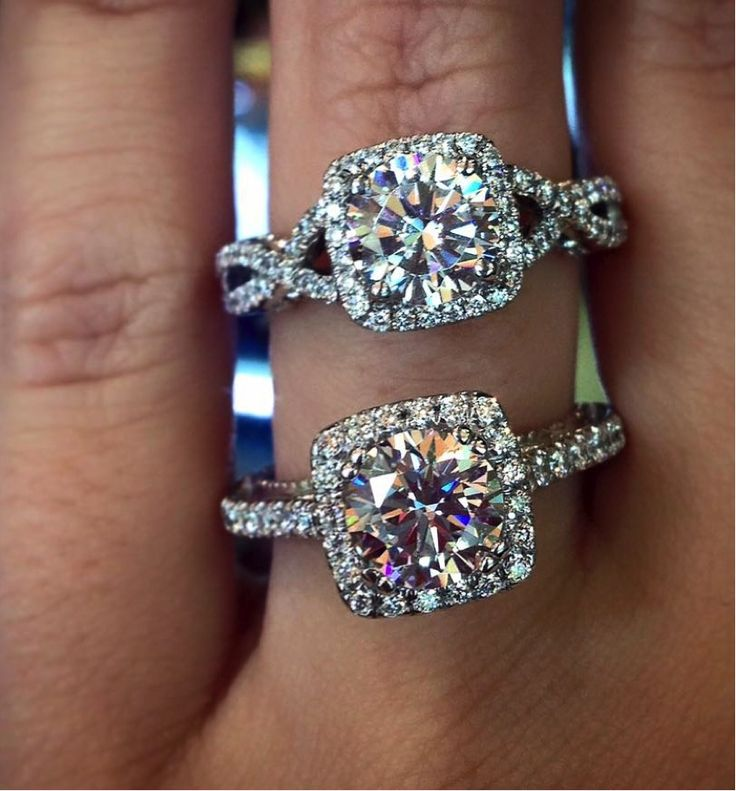 Don't forget about the band - it can change the entire look of a ring! Which do you prefer?