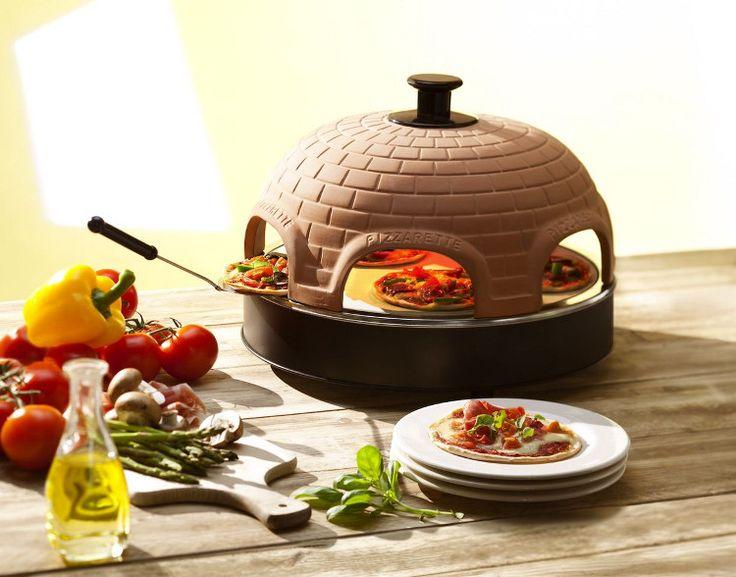 Geen vette afhaal- of kleffe diepvriespizza's meer, maar knapperige, verse pizza's met de Pizzarette Stone.   Gezellig met z'n allen, gewoon thuis aan tafel op de Pizzarette!  Heerlijk: www.wonen.nl/a/5358