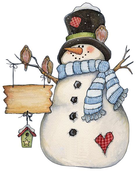 cute country snowman wallpaper - photo #28