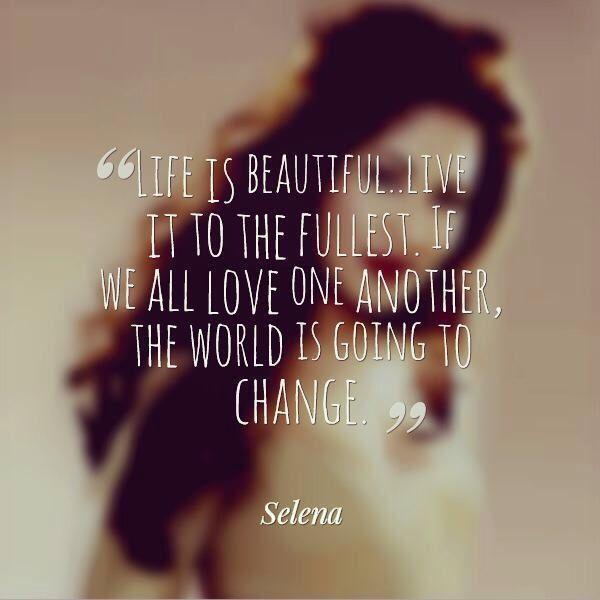 Selena quote