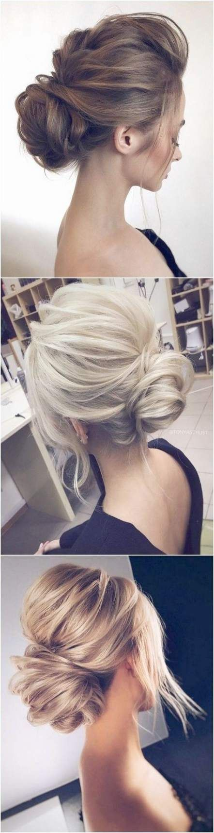 38 Trendy Ideas Hairstyles Wedding Medium Hair Simple Updo
