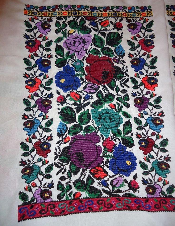 Женская Борщевская вышиванка по мотивам старинной