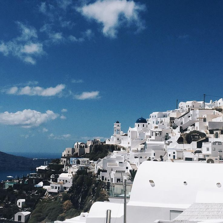 Santorini, Greek Islands. Instagram: hellooctoberxo
