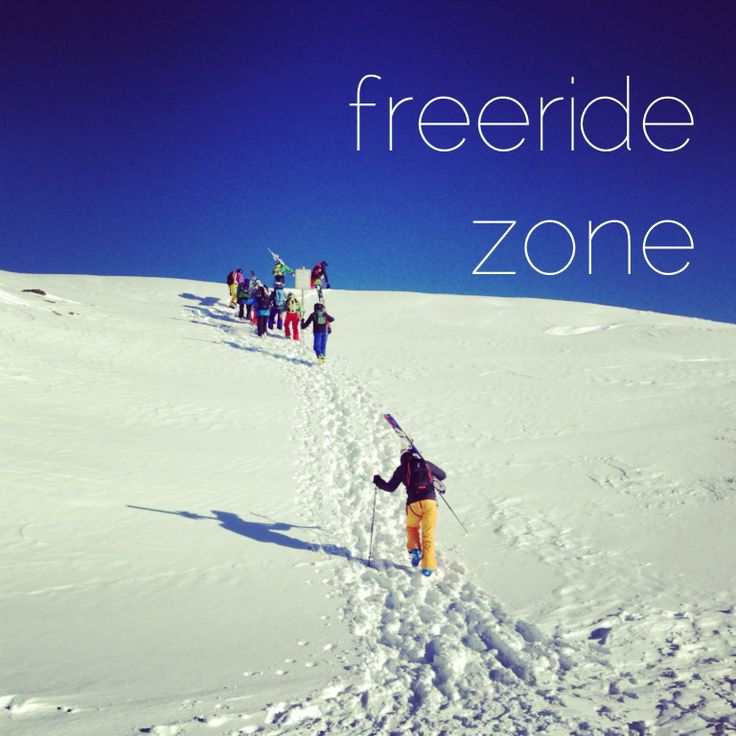 freeride zone