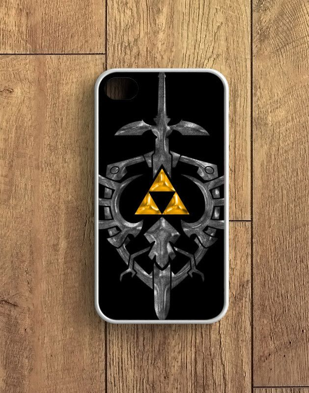 Zelda Black Gold Triforce iPhone 4 | 4S Case