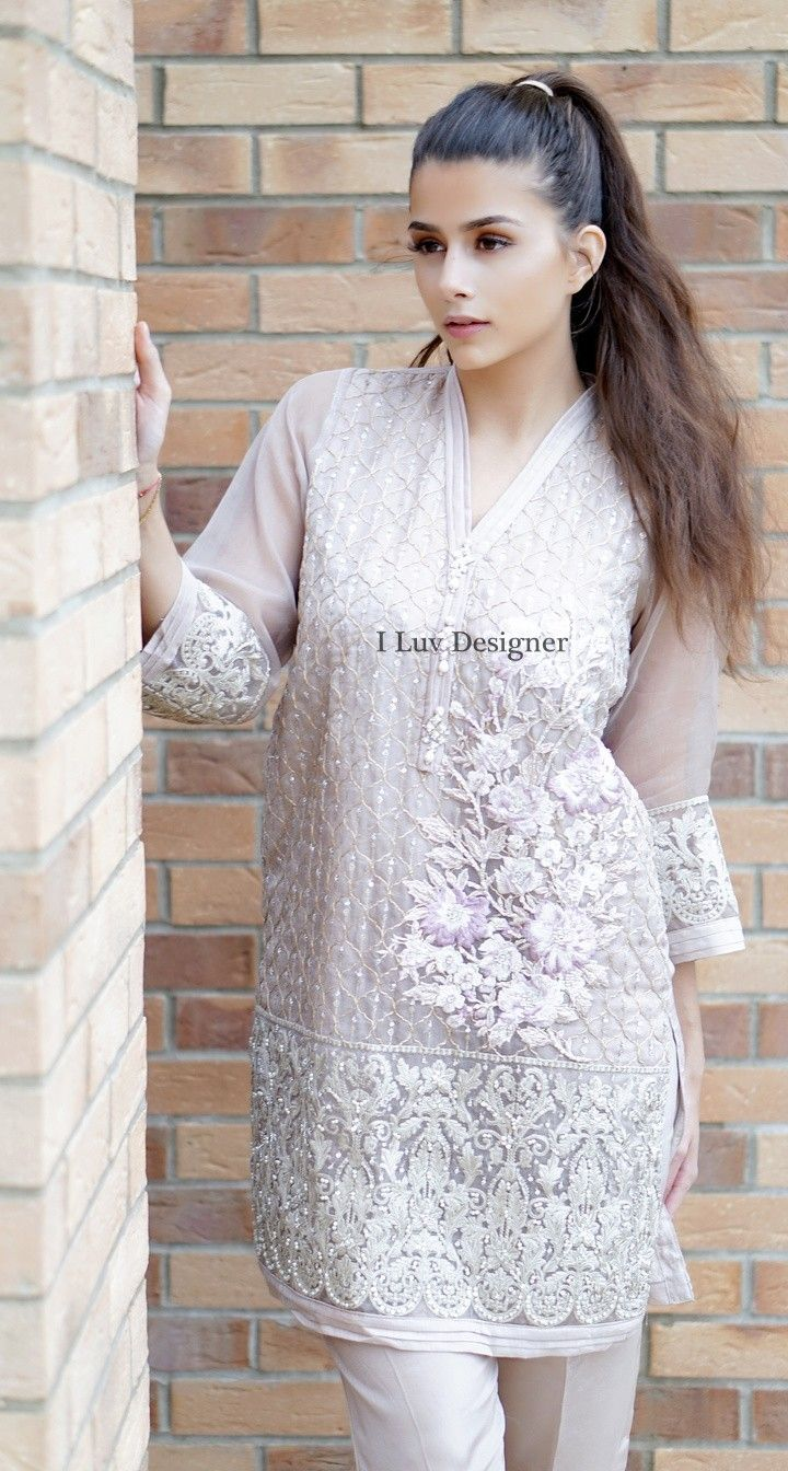Pakistani Designer Dresses - Lowest Prices - Agha noor Hand work Fully Embroidered Dress - Latest Pakistani Fashion