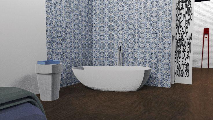 Esami finali Corso di Interior Design (www.madeininterior.it): progetto di interni di Agnieszka Pusz