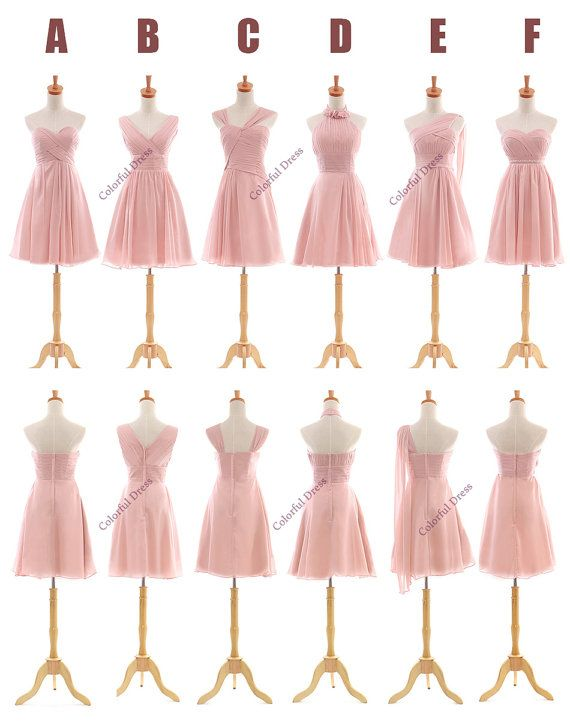 Sweet Six Style Six Kinds of Choice LaceUp Back by ColorDress