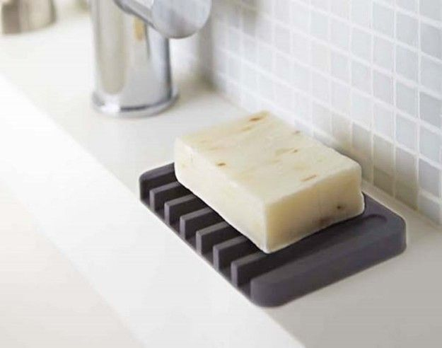 Designate a place for your MIA soap with a chic soap tray.