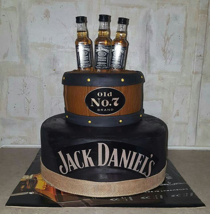 Jack Daniel S Cake Jack Daniels Birthday Jack Daniels