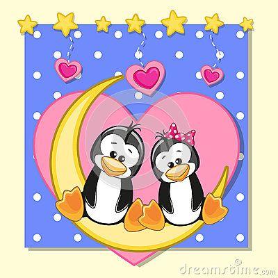 pinguins namorados
