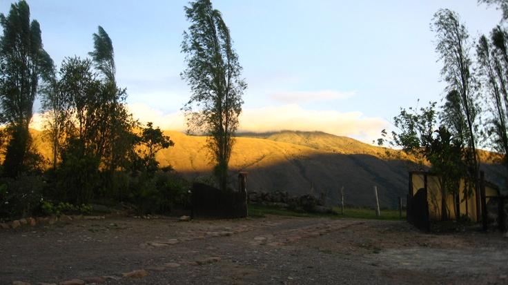 Desierto de La Candelaria. Villa de Leyva, Boyacá