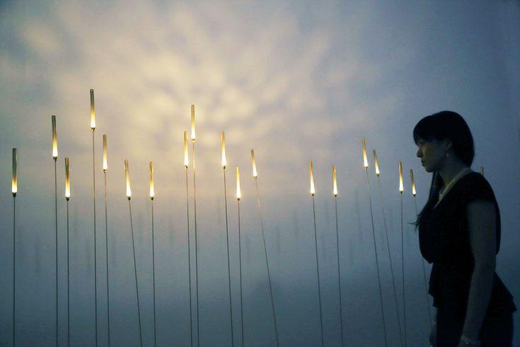 Inaho interactive lights