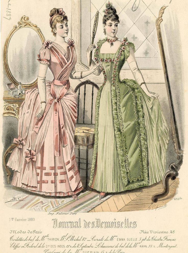 Journal des Demoiselles 1889: