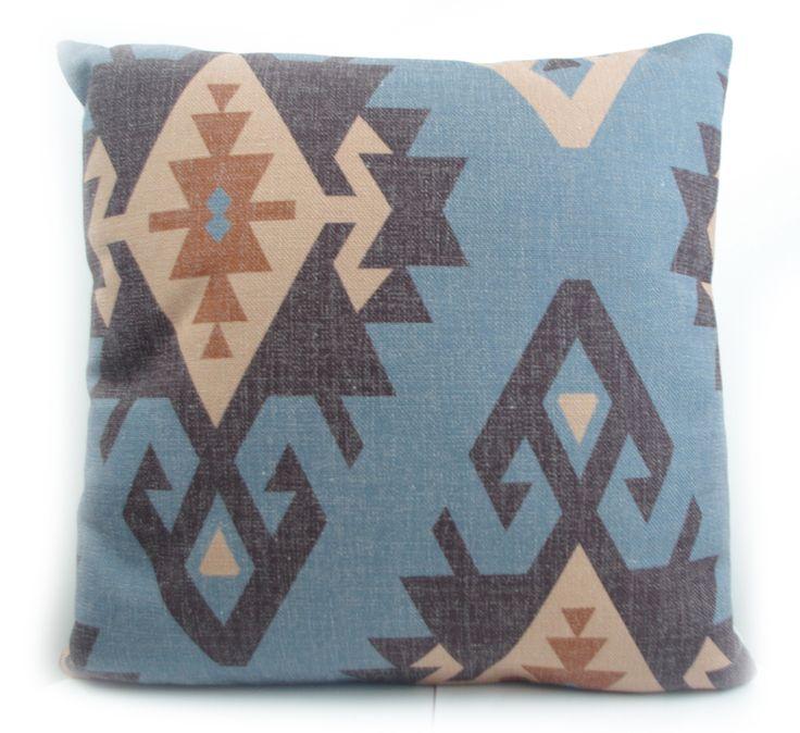 Haut de gamme impression numérique bleu Turc ethniques kilim diamant motif taie d'oreiller housse de coussin pour canapé décoration de la maison jeter dans Couvre-coussin de Maison & Jardin sur AliExpress.com | Alibaba Group