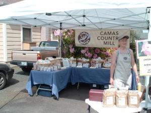 Creswell Farmer's Market in Creswell, Oregon.