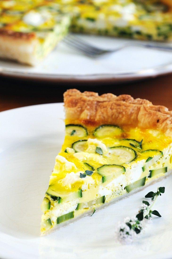 Ricotta-Zucchinikuchen | http://eatsmarter.de/rezepte/ricotta-zucchinikuchen