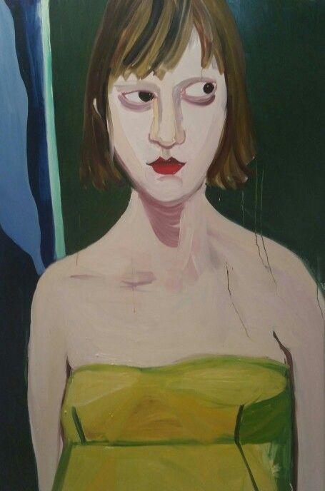 Portrait by Chantal Joffe.