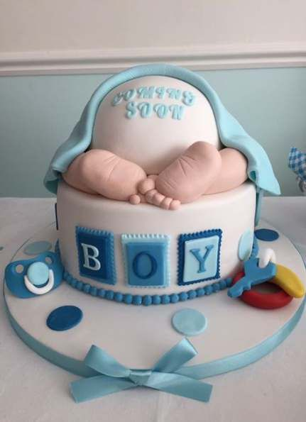 Baby Shower Boy Cake Frosting 67 Ideas