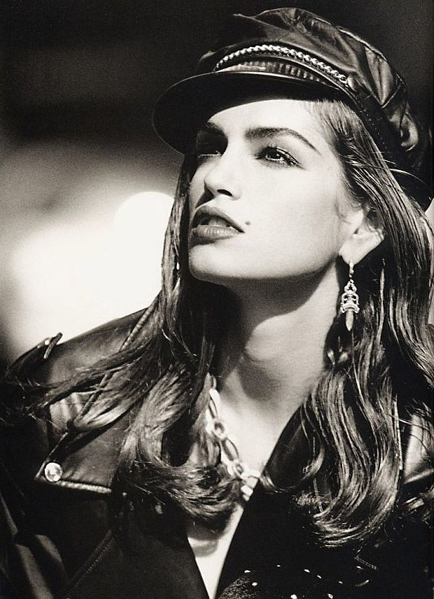 Cindy Crawford (1966) - American actress and former fashion model. Photo © Peter Lindbergh