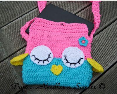 269 Best Bags Owls Images On Pinterest Crochet Owls Handbags