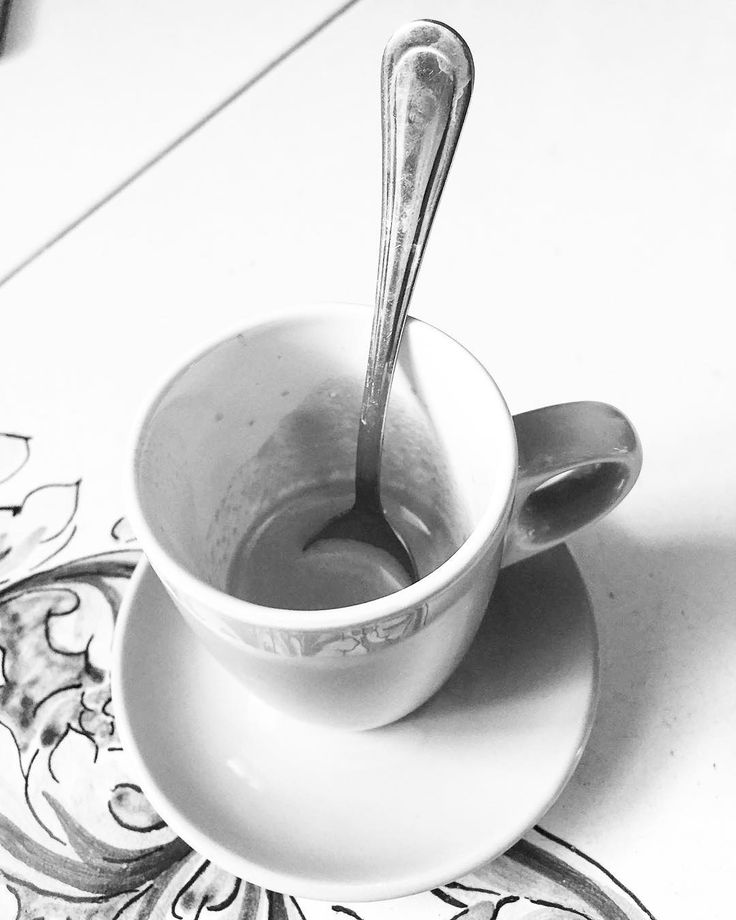 Caffè del mattino/Morning Coffee  A cup of coffee in our Sicilian Villa.  Ok really our cousin's house but we like to think of it as our villa.   #sicily #italy #coffee #caffè #food #drink #blackandwhite #blackandwhitephotography #bnw_drama #bnw_legit #bnw_captures #gf_bnw #bnwmaster