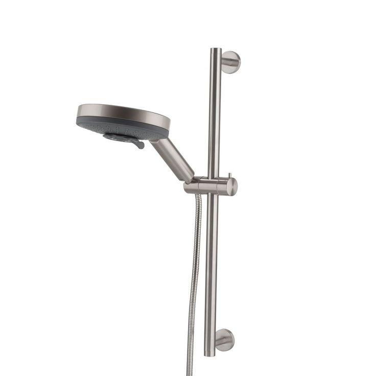 Echt genieten van een ontspannende douche? Dat doe je met de Boston Raindouche van Tiger! Deze moderne set heeft een douchekop met een ruime diameter en dat zorgt voor een aangename stortdouche. Alsof je in een heerlijk warme regenbui staat!