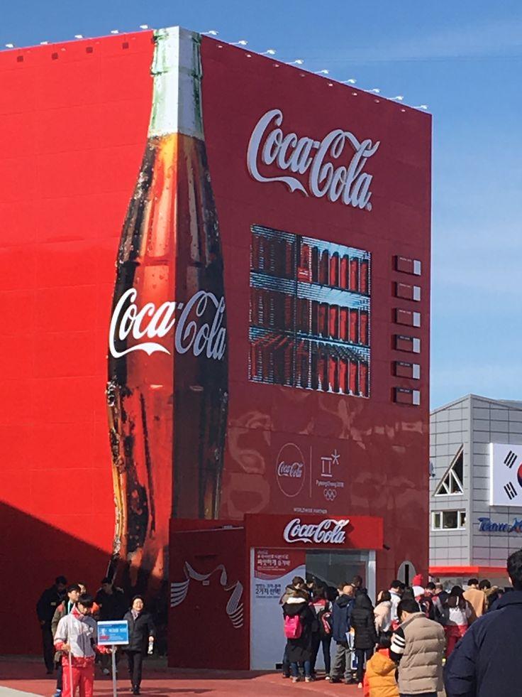 South Korea winter aliphatics,they had this huge coke cola