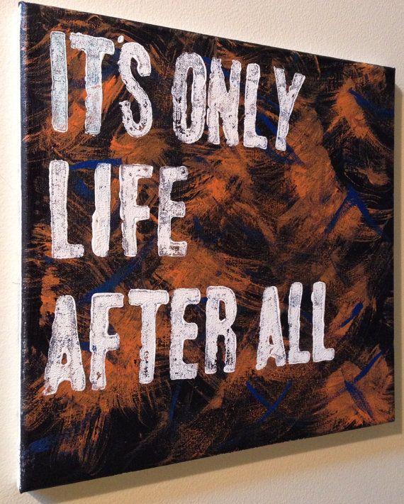 Indigo Girls Lyric/Quote Acrylic Painting on Canvas 12 x 12 on Etsy, $25.00