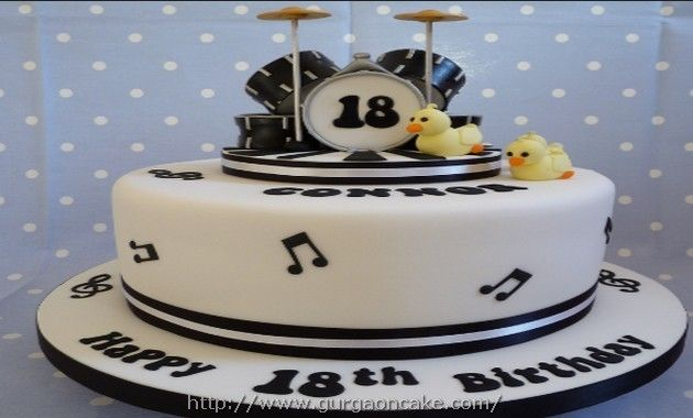 Drum Birthday Cake Images Picture