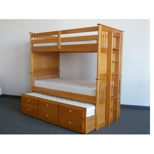 Captains bed twin with twin trundle and drawers in white - White twin captains bed with drawers ...