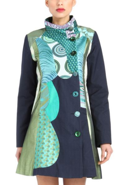 "Desigual Quiet Harmony Jack they make some fun ""wearable art"" jackets."