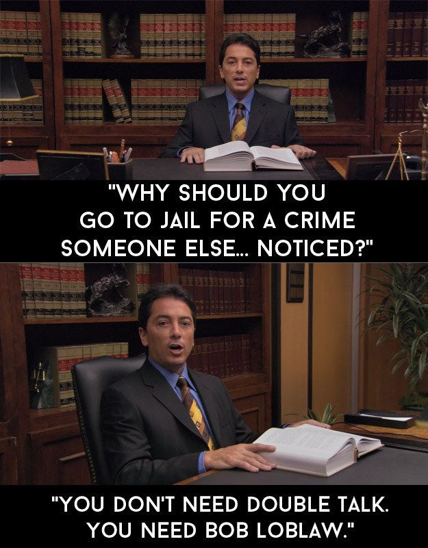 """Bob Loblaw's excellent television commercial. 