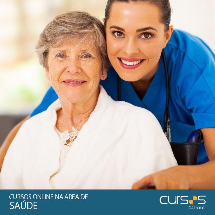 SaúdeCursos Online na Área de Saúde-Click e Confira a Lista Completa dos Cursos!