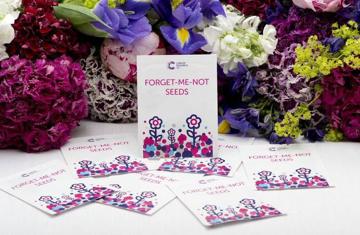 Cancer Research Uk Wedding Favours Forget Me Not Seeds Perfect For Your