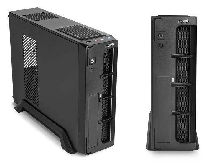 Gabinete Slim Sentey SS1-2429 STYX con fuente 450W - USB 3.0