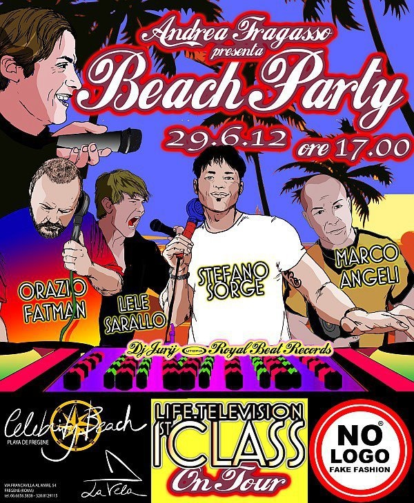 Life in Tour Beach Party - 26/6/2012