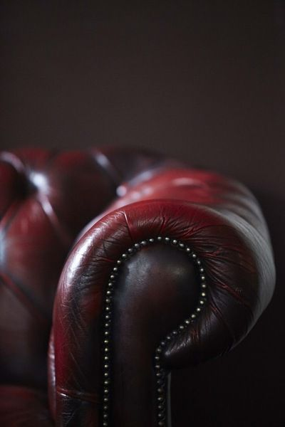 Oxblood Leather Couch Dream Home Pinterest Oxblood