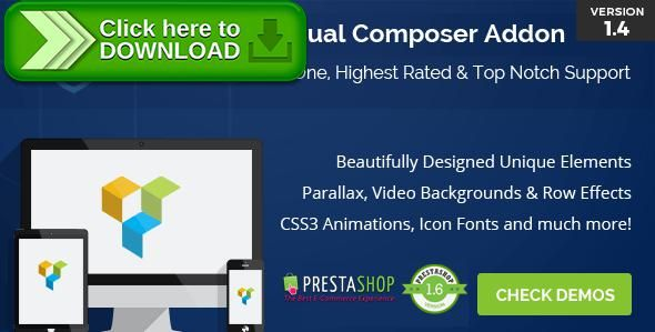 [ThemeForest]Free nulled download Ultimate Addons for  Prestashop Visual Composer from http://zippyfile.download/f.php?id=56205 Tags: ecommerce, flip box, font awesome, font icons, icon list, icon manager, info box, info list, Logos Interactive Banner, milestone counter, modal, popup, stats counter, vc addons, visual composer