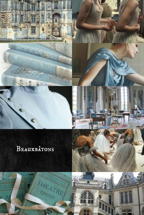 """wizarding schools around the world: Beauxbatons Academy of Magic #2: """"It is said that the stunning castle & grounds of this prestigious school were part-funded by alchemist gold, for Nicolas & Perenelle Flamel met at Beauxbatons in their youth; a fountain in the middle of the school's park, believed to have healing & beautifying properties, is named for them. In the Dining Hall, wood nymphs serenade the students while they eat; at Christmas, the hall is adorned with glittering ice…"""