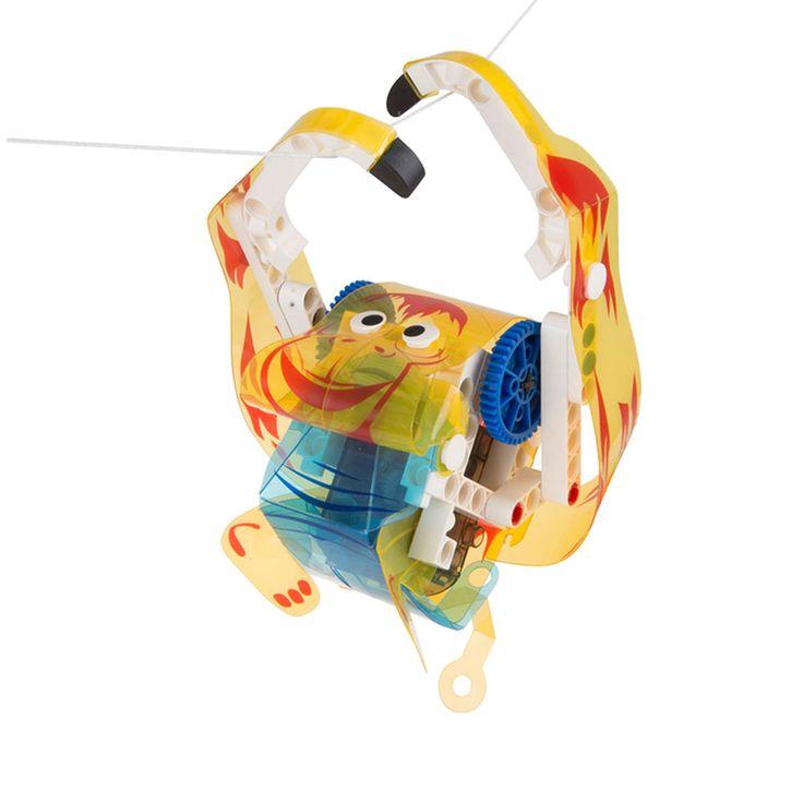 Κατασκευάστε 8 μοναδικά τηλεκατευθυνόμενα ζωάκια χρησιμοποιώντας το Gigo Animal Machines! Η ρεαλιστική τους κίνηση θα συναρπάσει τα παιδιά!